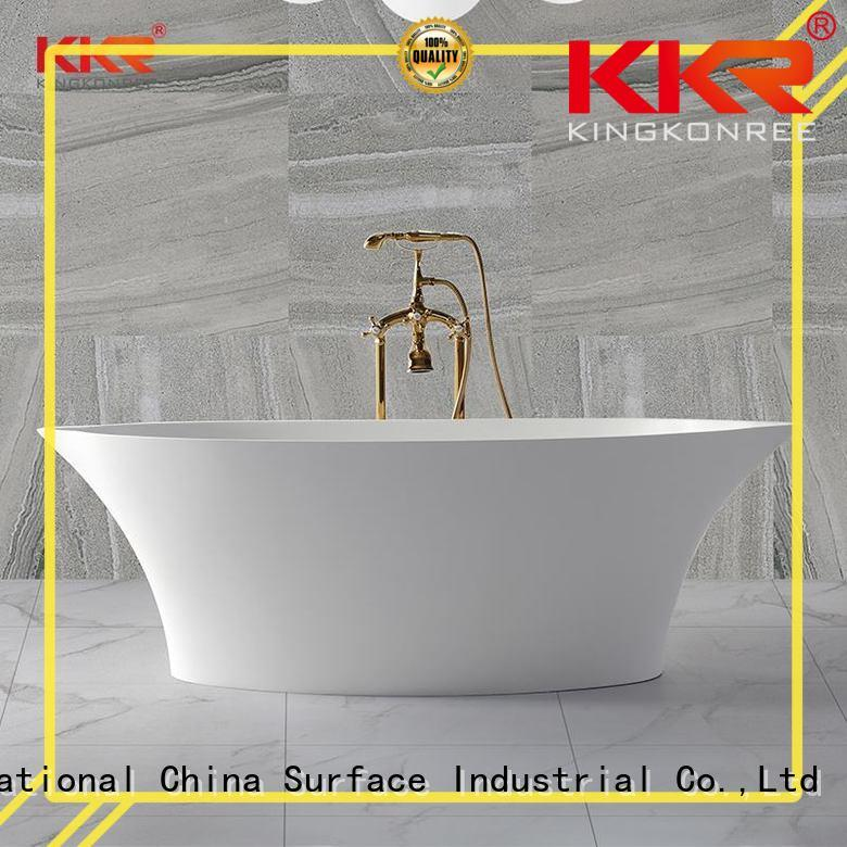 resin stand alone bathtubs for sale ODM for hotel
