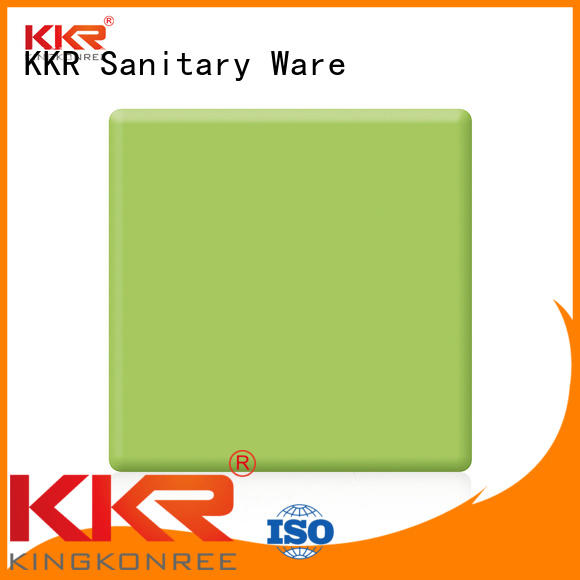 acrylic solid surface sheet acrylic surface modified KingKonree Brand modified acrylic solid surface