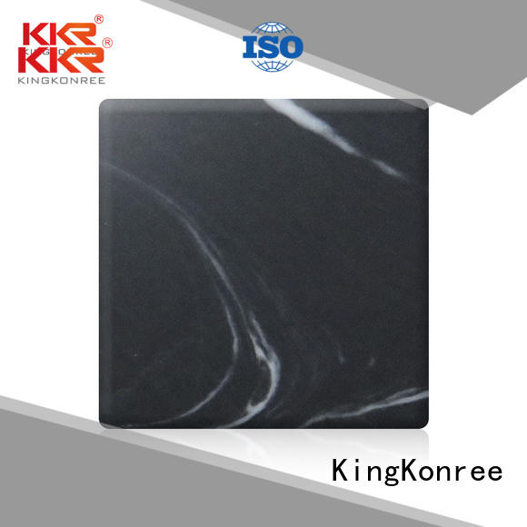 KingKonree Brand sheets texture custom solid acrylic sheet