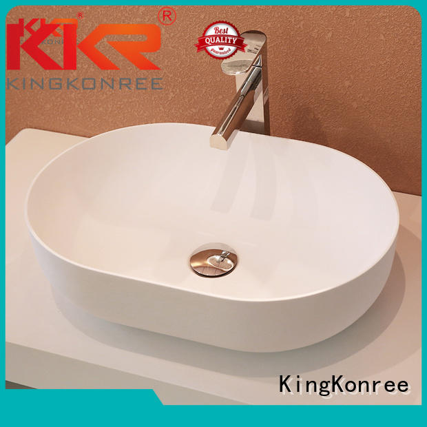 above rectangle KingKonree Brand above counter basins