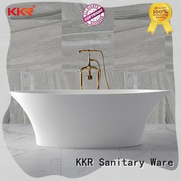 KingKonree small stand alone bathtub free design
