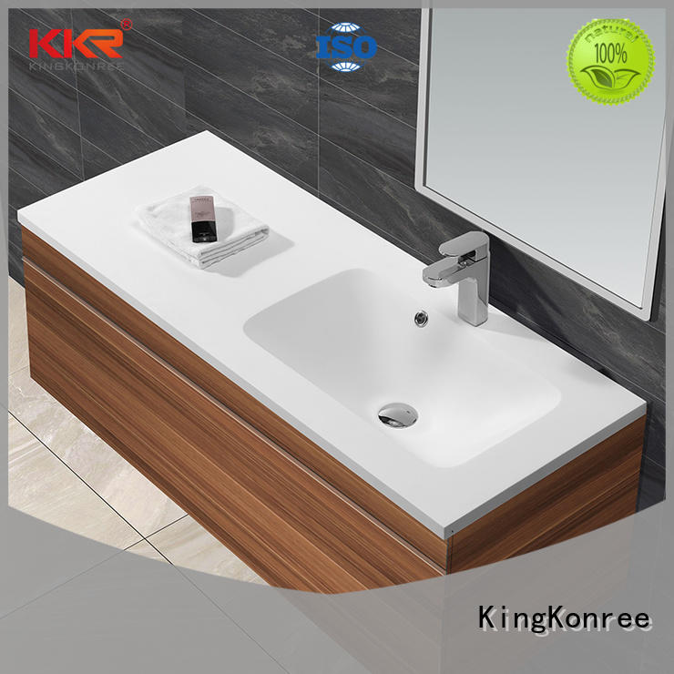 KingKonree marble stylish wash basin sinks for motel