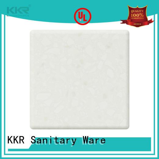 KingKonree 30mm solid surface sheets manufacturer for hotel