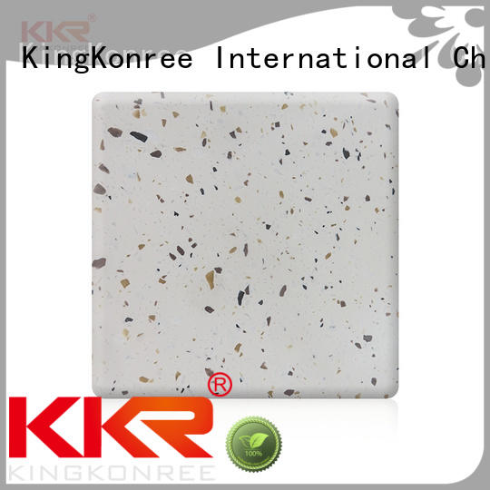 KingKonree sparkle solid surface sheet suppliers customized for home