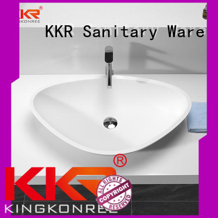 oval above counter basin counter artificial basin KingKonree Brand company