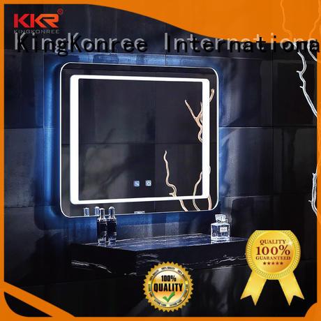concrete unique mirrors manufacturer for home