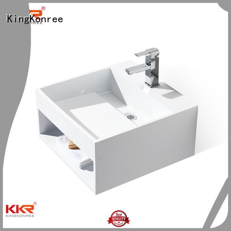 KingKonree Brand selling kkr wall mounted bathroom basin wall supplier