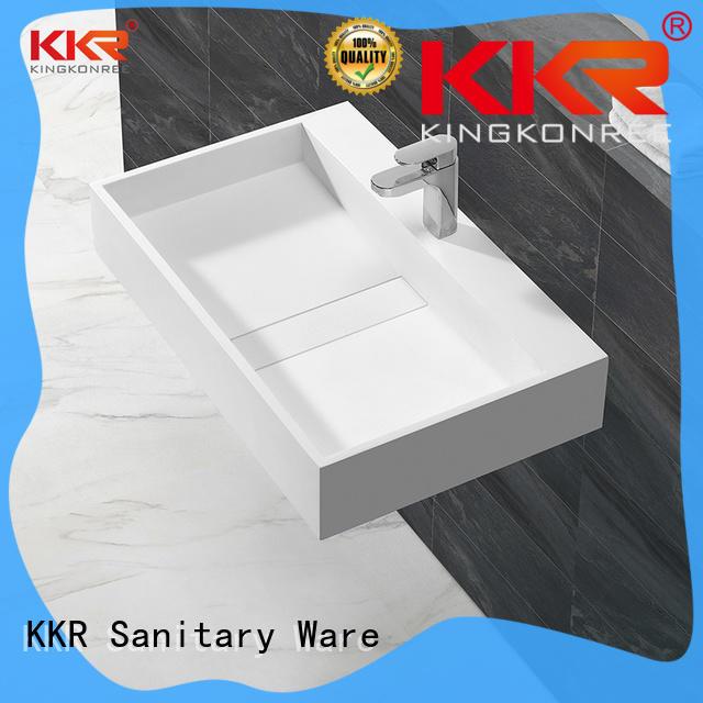 KingKonree wall mounted wash basins customized for hotel