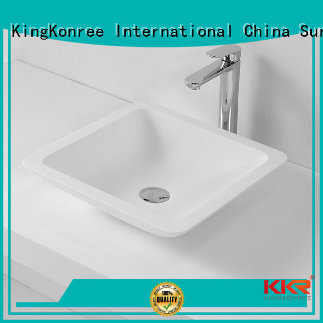 oval above counter basin wash acrylic above counter basins rectangle KingKonree Brand