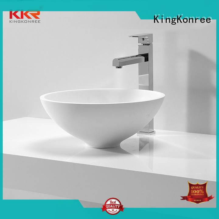 basin above counter basin round at discount for restaurant KingKonree