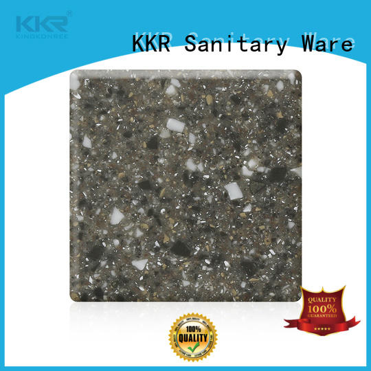blue acrylic solid surface worktops plain for room KingKonree