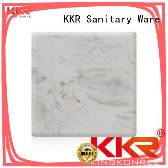 KingKonree solid acrylic sheet supplier for indoors
