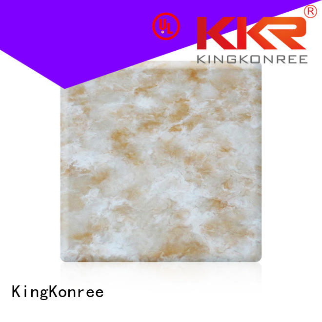 pattern solid surface sheets kkr artificial KingKonree company