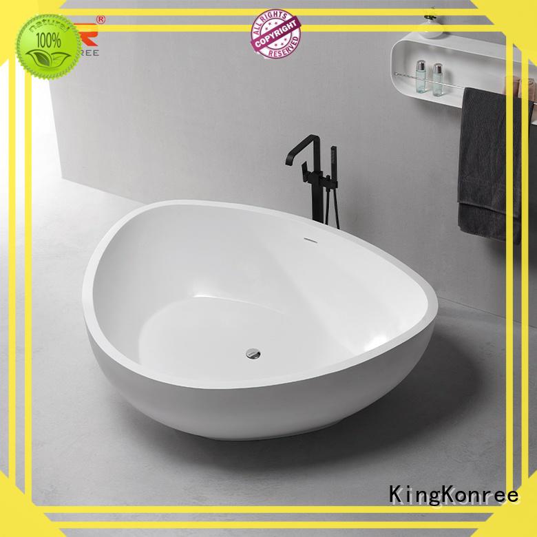 KingKonree black best freestanding tubs custom for family decoration