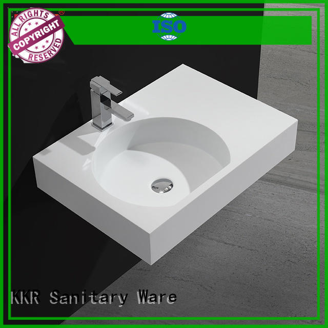 KingKonree high-quality solid surface basin highly-rated