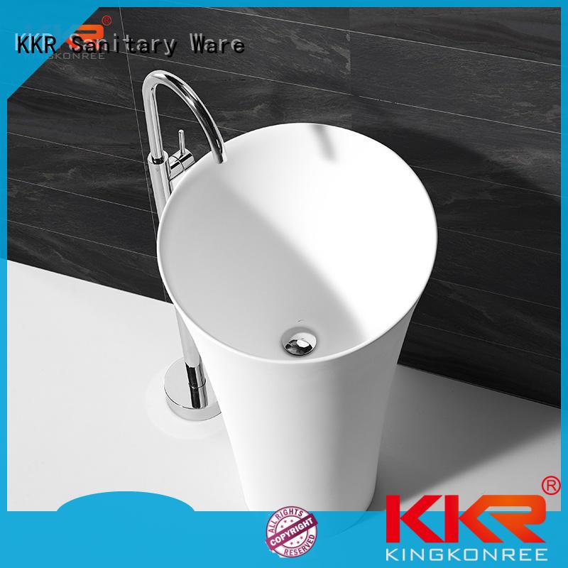 KingKonree acrylic stand alone bathroom sink manufacturer for home