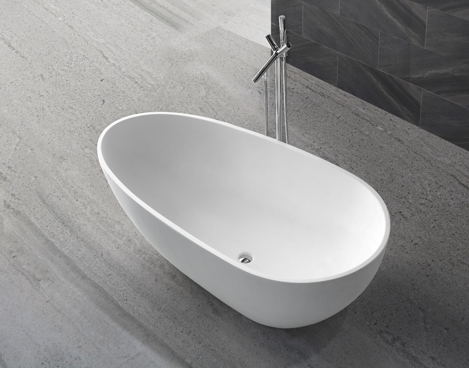 KingKonree resin stone bathtub ODM-1