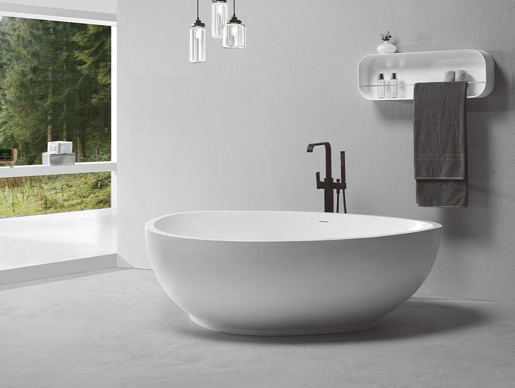 KingKonree black best freestanding tubs custom for family decoration-1