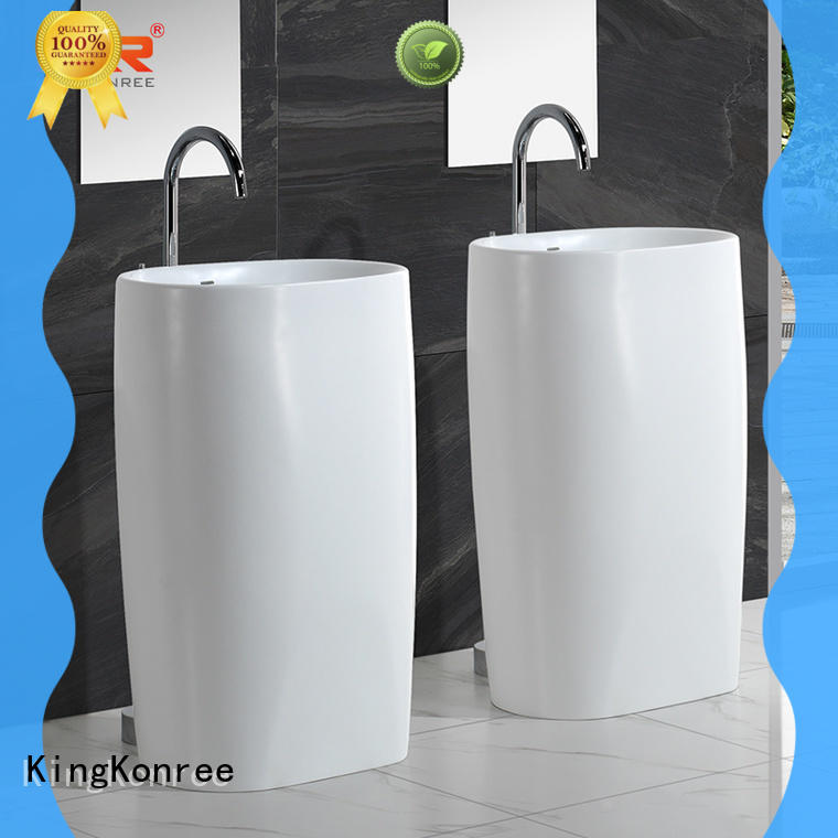 acrylic basin stands for bathrooms design for motel