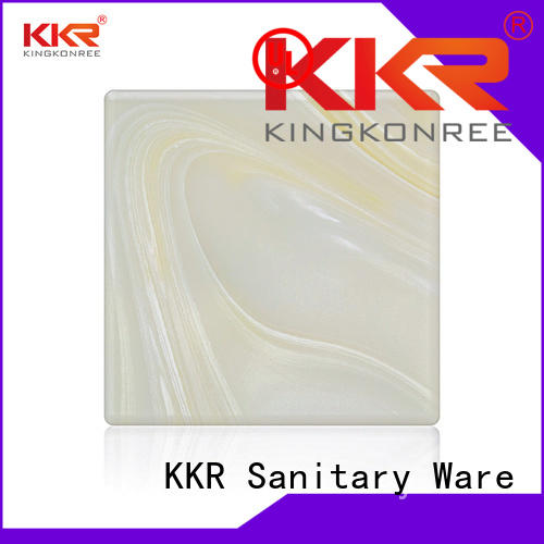 KingKonree Brand sheets kkr translucent solid surface