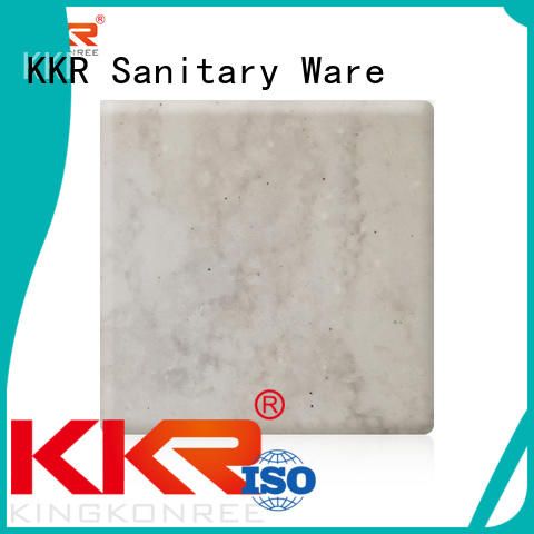 Wholesale surface solid surface sheets KingKonree Brand