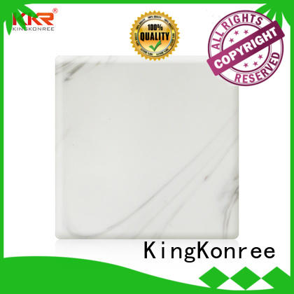 KingKonree solid surface sheets customized for home