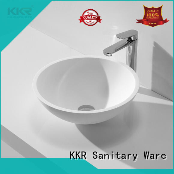 KingKonree above counter sink bowl cheap sample for restaurant