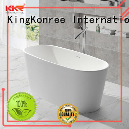 finish solid surface freestanding tubs custom for family decoration