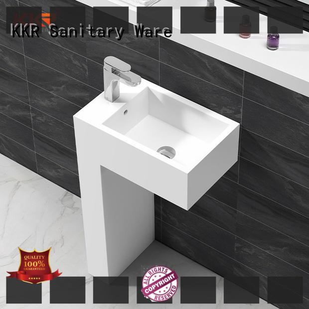KingKonree marble stone vanity top-brand for bathroom