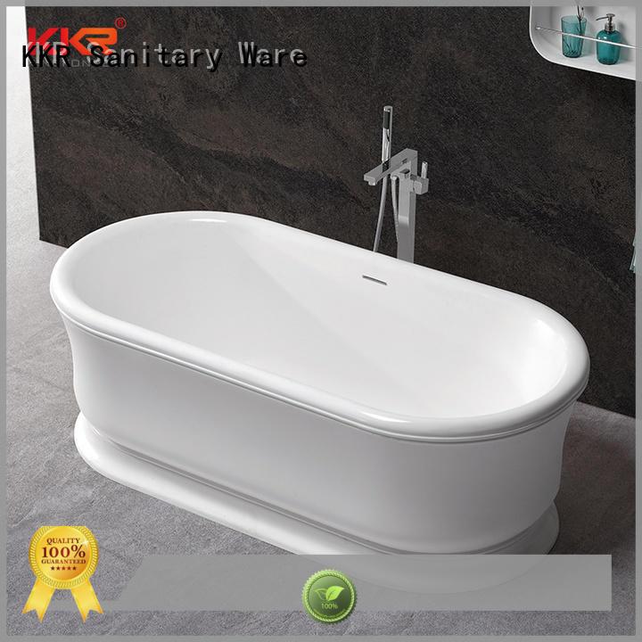 KingKonree hot-sale rectangular freestanding tub OEM for shower room