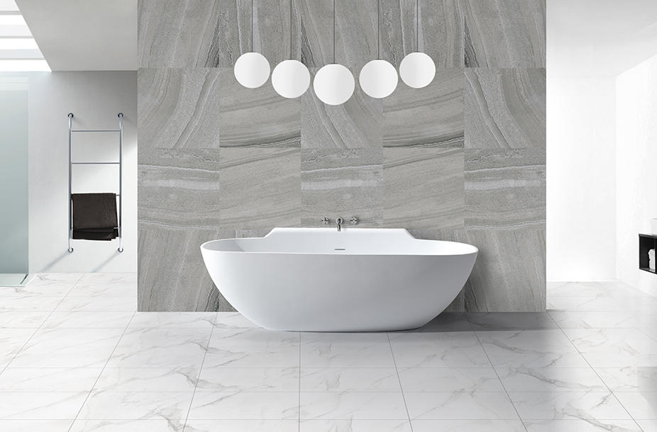 KKR Wholesale artificial stone freestanding solid surface soaking bathtub KKR-B025-1