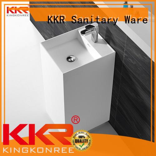 KingKonree basin stands for bathrooms customized for motel