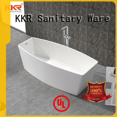 KingKonree high-quality best price freestanding baths resin for family decoration