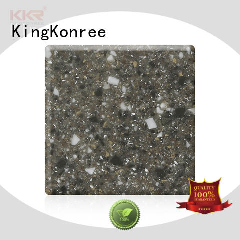 KingKonree solid surface countertops prices manufacturer for restaurant