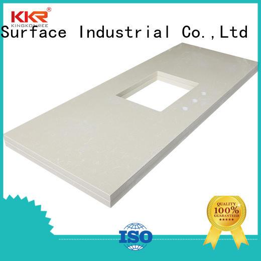 KingKonree solid surface bathroom countertops sink for home