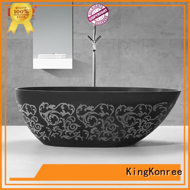 bañera independiente blanca de alta gama OEM KingKonree
