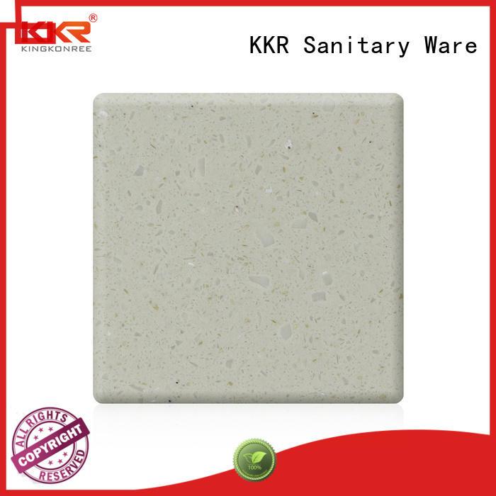 grey acrylic worktops resin for home KingKonree