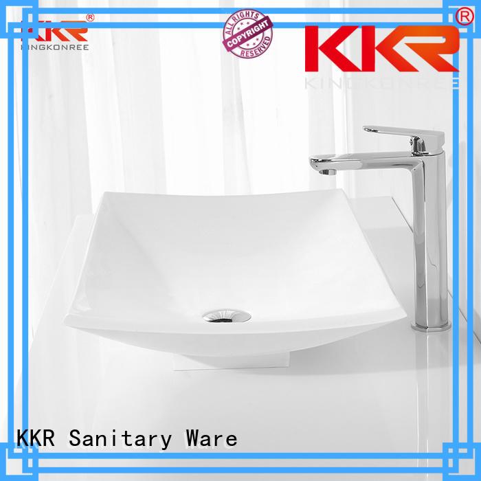 Hot oval above counter basin acrylic KingKonree Brand