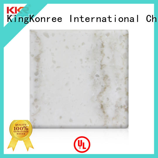 artificial acrylic solid surface from China for hotel