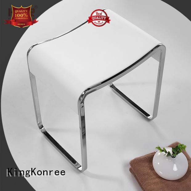pure stone shower stool bulk production for restaurant KingKonree