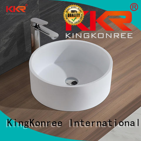 Wholesale acyrlic countertop above counter basins KingKonree Brand
