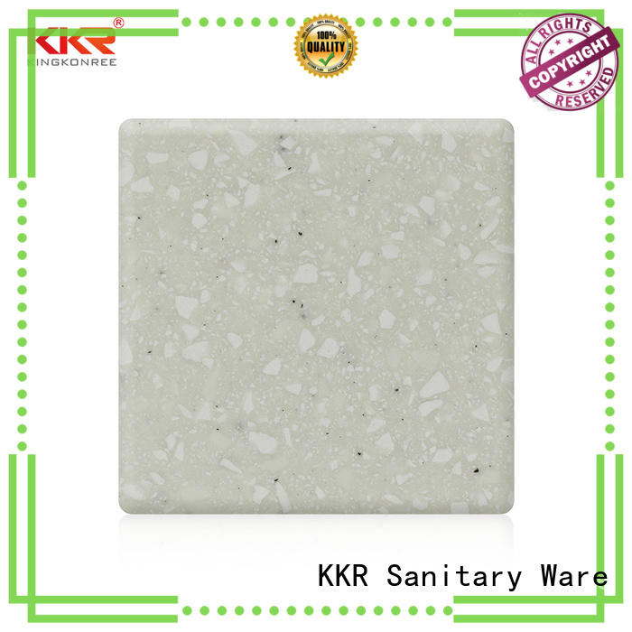 KingKonree red modified acrylic solid surface manufacturer for home
