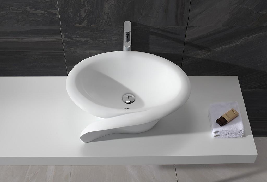 KingKonree standard bathroom vanity above counter basin for restaurant-1