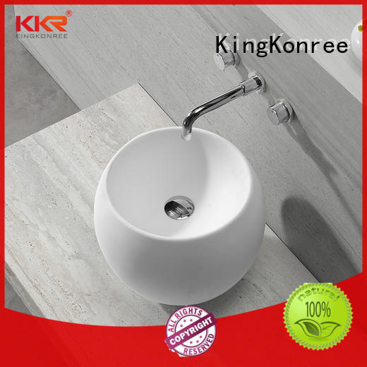 KingKonree above counter sink bowl design for home