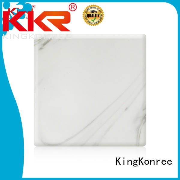 surface pattern KingKonree Brand solid acrylic sheet factory