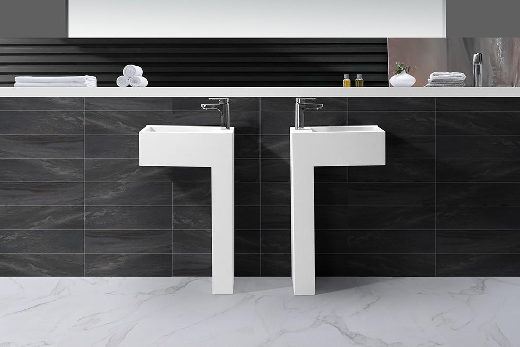KingKonree best material solid surface basin highly-rated for hotel-1