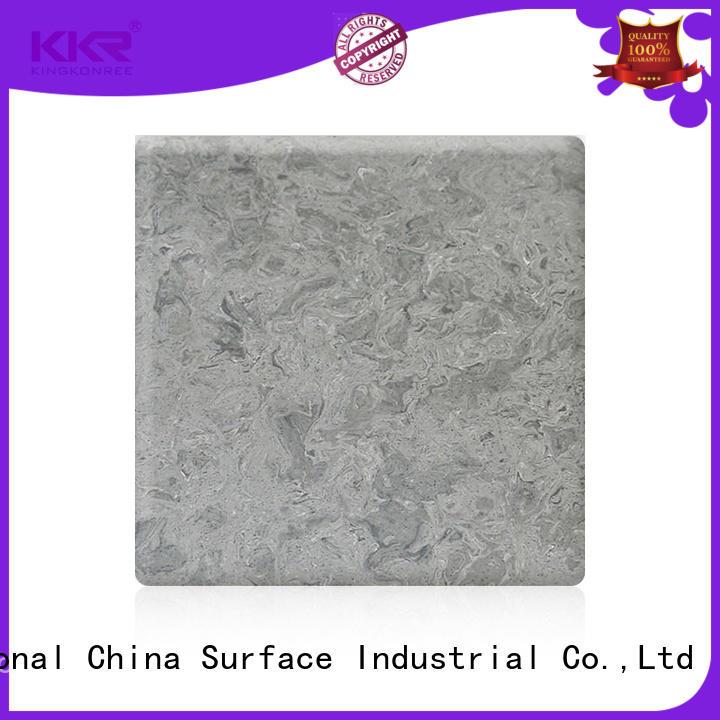 KingKonree artificial solid surface sheets manufacturer for hotel
