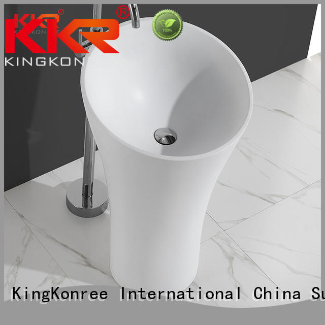 bathroom standing unique KingKonree Brand bathroom free standing basins factory