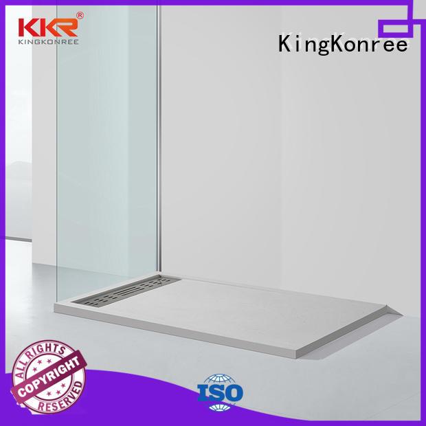 KingKonree pan shape square shower tray top for motel