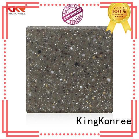 best solid surface countertops supplier for restaurant KingKonree